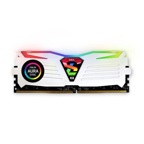 Super Luce RGB SYNC WHITE AMD Edition